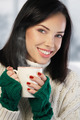 Young woman enjoying a cup of coffee - PhotoDune Item for Sale