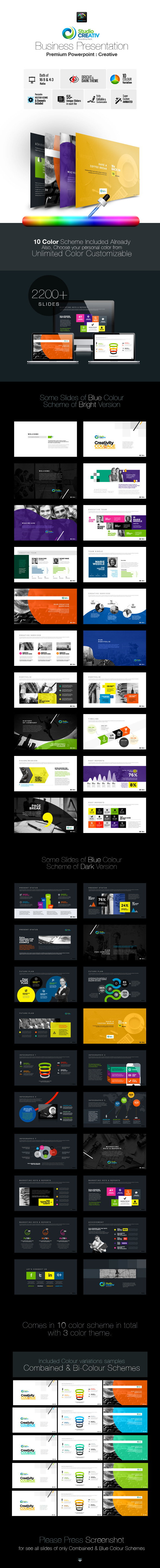 GraphicRiver Creative Business PowerPoint 9571468
