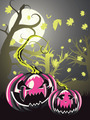 Scary Pumpkins in Forest - PhotoDune Item for Sale