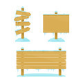 Winter Wooden Boards - PhotoDune Item for Sale