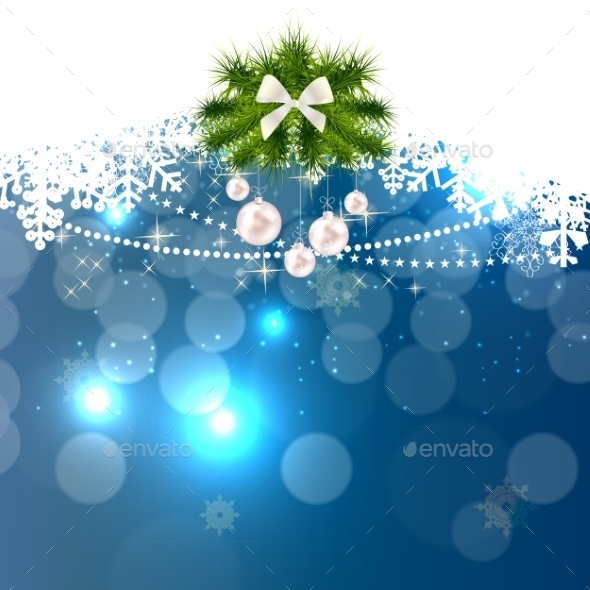GraphicRiver Abstract Christmas and New Year Background 9571767
