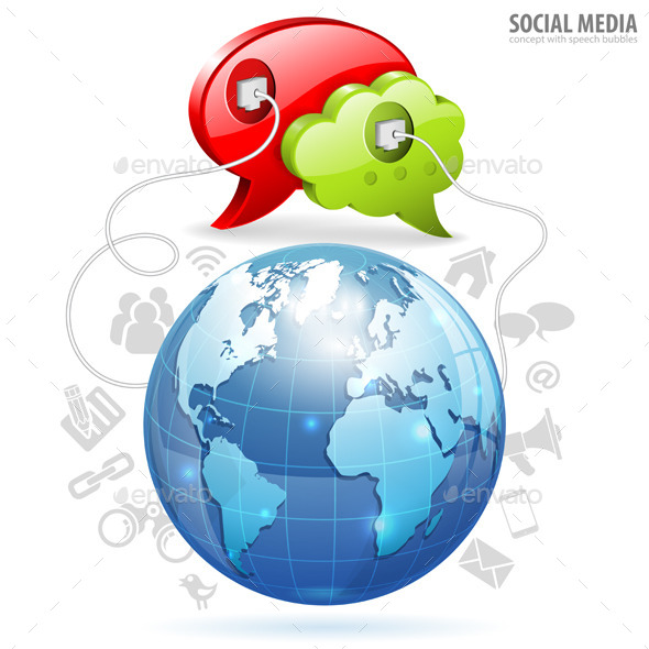 GraphicRiver Social Media Concept 9571802