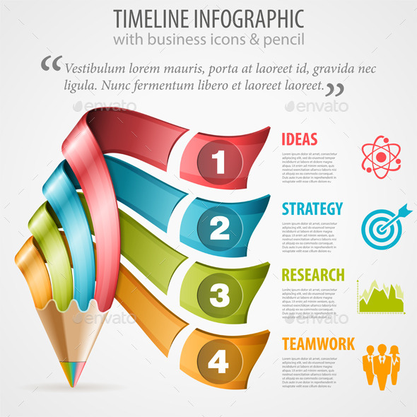 GraphicRiver Timeline Infographic 9571807