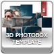 3D Photobox Template - GraphicRiver Item for Sale