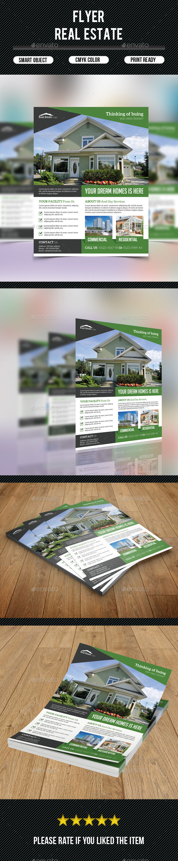 GraphicRiver Real Estate Flyer 9571967