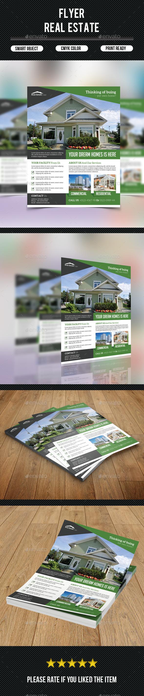 GraphicRiver Real Estate Flyer 9571967
