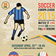 Euro League Soccer Cup 2015 Football Flyer - GraphicRiver Item for Sale
