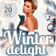 Winter Delight Flyer - GraphicRiver Item for Sale