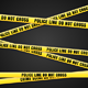 Criminal Scene Yellow Line - GraphicRiver Item for Sale