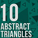 10 Abstract Triangles Backgrounds - GraphicRiver Item for Sale