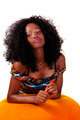 Young Attractive Skinny African American Teen Woman - PhotoDune Item for Sale