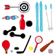Sport Equipment - GraphicRiver Item for Sale
