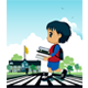 Children to School - GraphicRiver Item for Sale