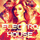 Electro and House Party Flyer - GraphicRiver Item for Sale