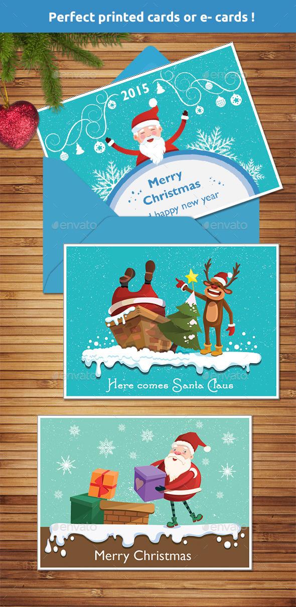 GraphicRiver Christmas Greeting Cards 9543817