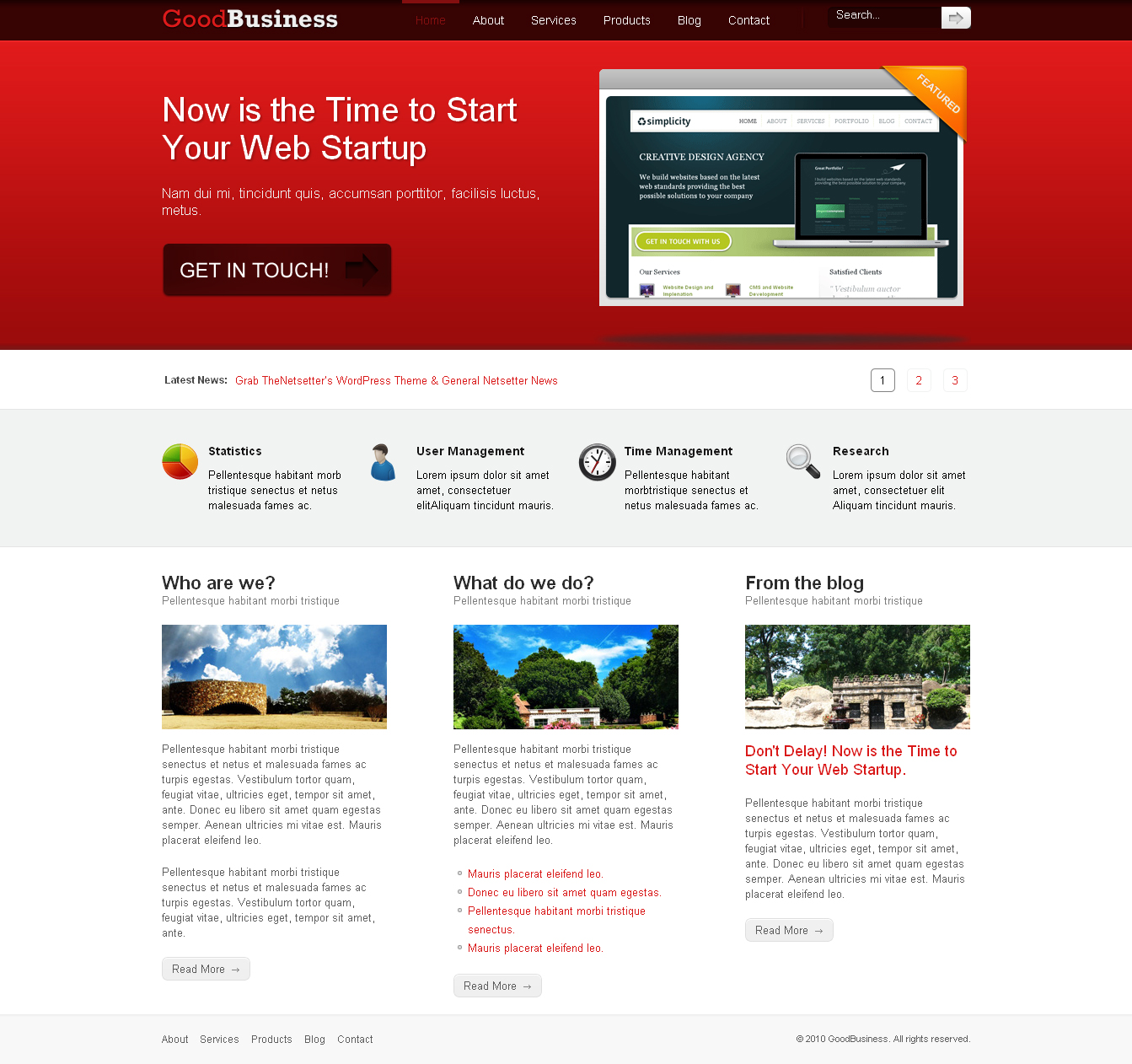 Good Business - Premium Wordpress Theme