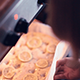 Placing Focaccia Dough into Oven - VideoHive Item for Sale