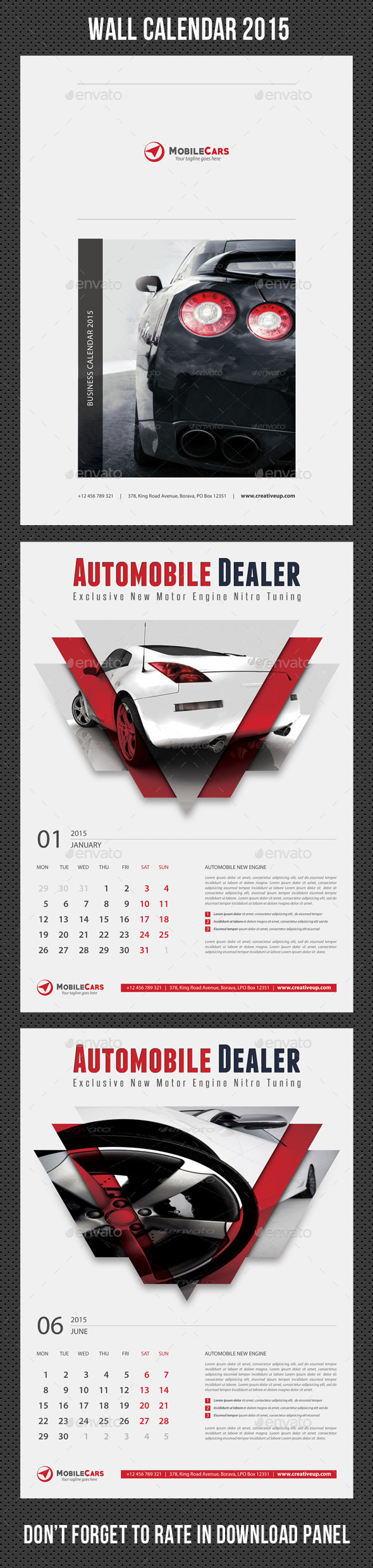 GraphicRiver Wall Calendar 2015 V19 9573355