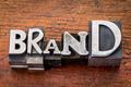 brand iword n metal type - PhotoDune Item for Sale