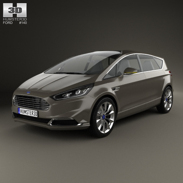 3DOcean Ford S-Max 2013 9573523
