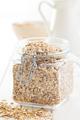 oat flakes in jar - PhotoDune Item for Sale
