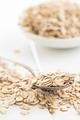 oat flakes in spoon - PhotoDune Item for Sale