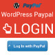 WordPress PayPal Login Plugin - CodeCanyon Item for Sale