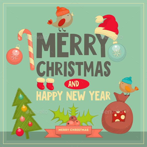 GraphicRiver Christmas Card 9573633