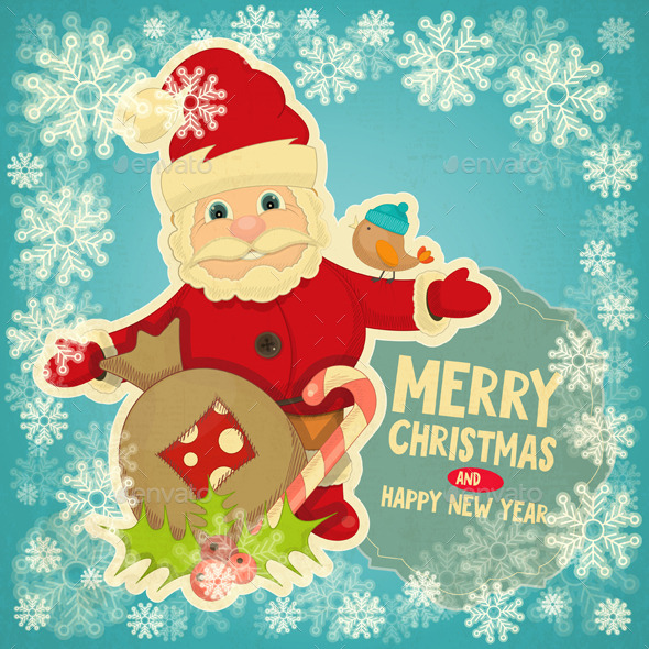 GraphicRiver Merry Christmas Greeting Card 9573794