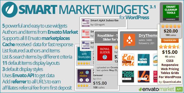 Smart Market Widgets - CodeCanyon Item for Sale