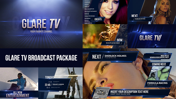 Entertainment Channel Broadcast Package By Marcobelli