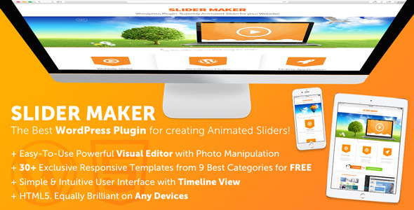 CodeCanyon Responsive Slider Maker Plugin for WordPress 9574930