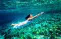 Refreshing swimming underwater - PhotoDune Item for Sale