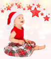 Cute happy Santa girl - PhotoDune Item for Sale
