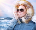 Luxury woman portrait in winter - PhotoDune Item for Sale