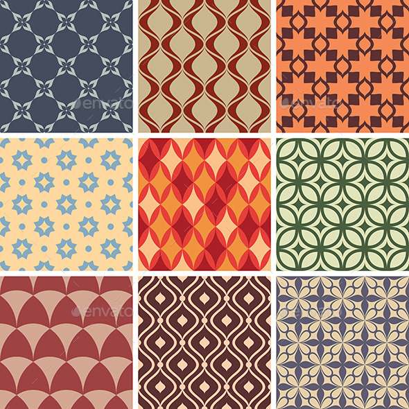 GraphicRiver Seamless Patterns 9575650