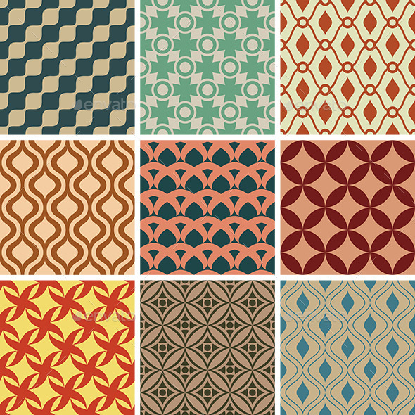 GraphicRiver Seamless Patterns 9575652