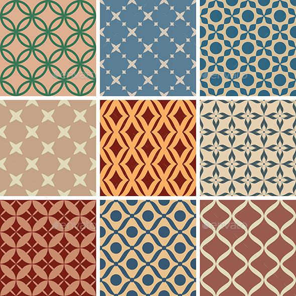 GraphicRiver Seamless Patterns 9575660