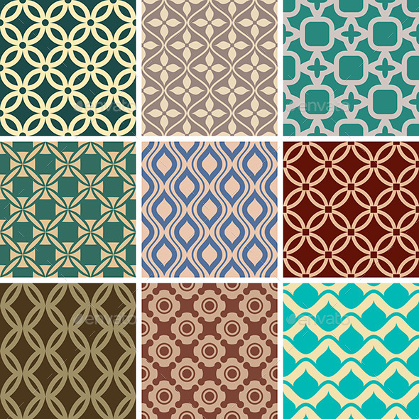 GraphicRiver Seamless Patterns 9575665