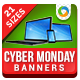 Cyber Monday Banner Set - GraphicRiver Item for Sale