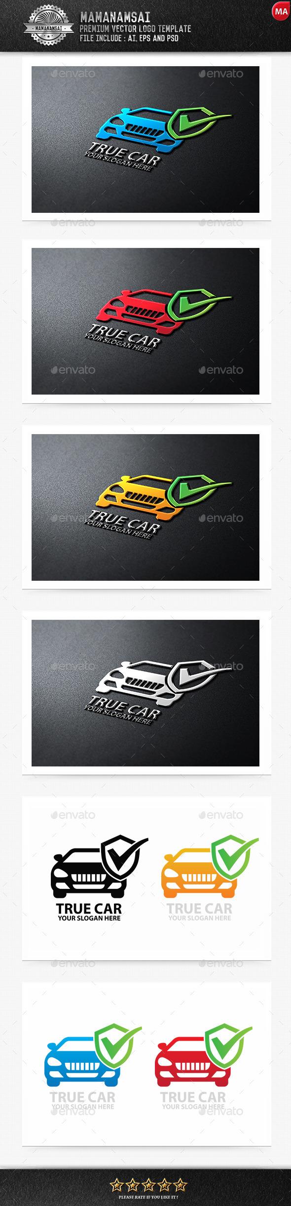 GraphicRiver True Car Logo 9575715