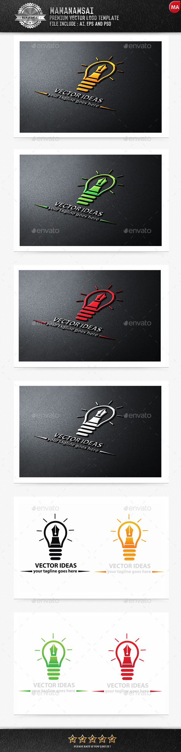 GraphicRiver Vector Ideas Logo 9575756