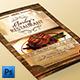 Vintage Restaurant Menu Flyer - GraphicRiver Item for Sale
