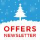 Christmas Offers E-commerce e-newsletter PSD Template