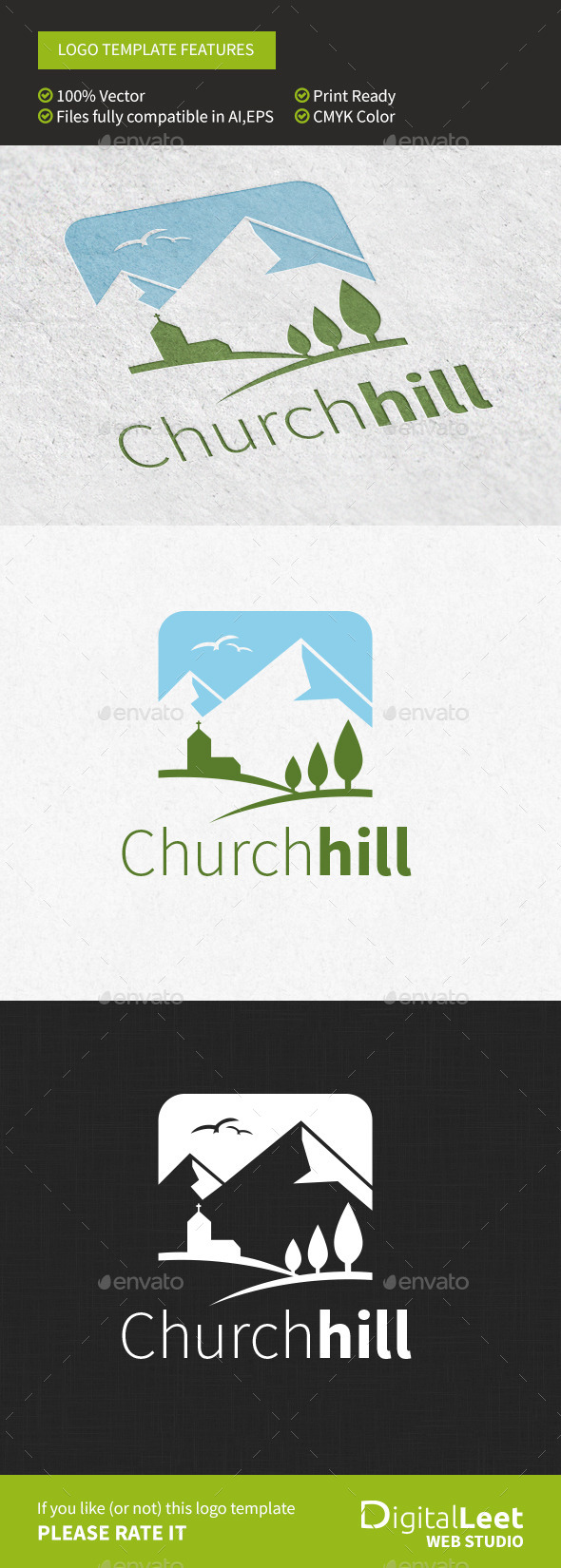 GraphicRiver Churchhill Logo Template 9576004