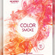 Color Smoke Party Flyer - GraphicRiver Item for Sale