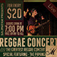 Reggae Concert Flyer / Poster - GraphicRiver Item for Sale