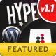 Hype Wordpress Theme Blogs, Magazines & Portfolios - ThemeForest Item for Sale