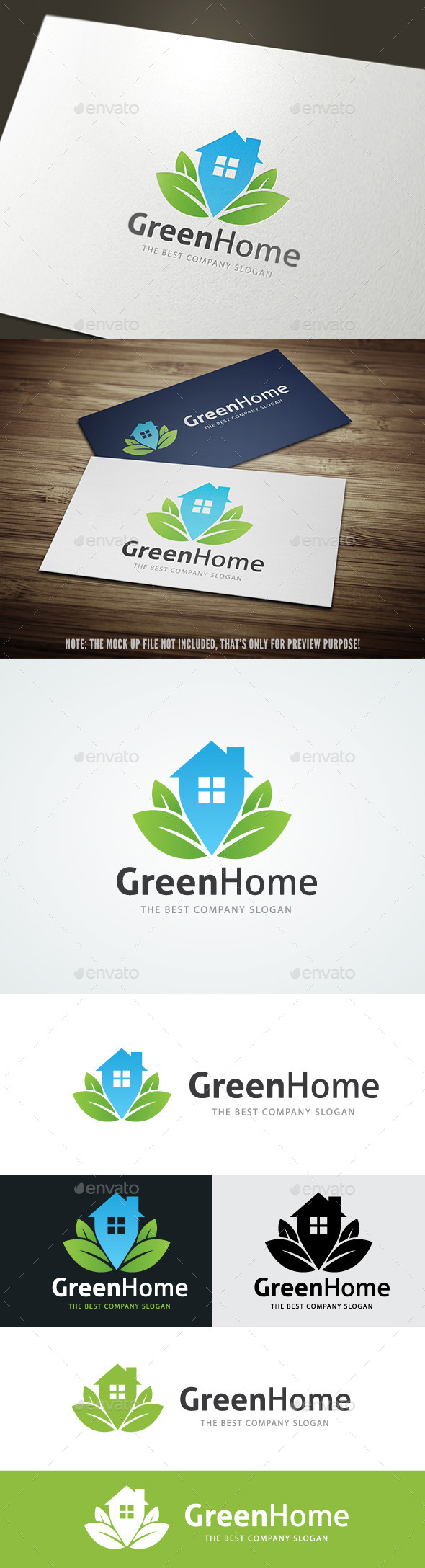 GraphicRiver Green Home 9577577