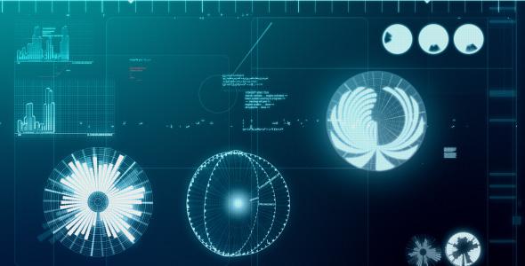 VideoHive Computer screen loop 122186